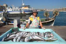 F/Provence/Bouches du Rh™ne/Marseille: Vieux Port, Fischmarkt