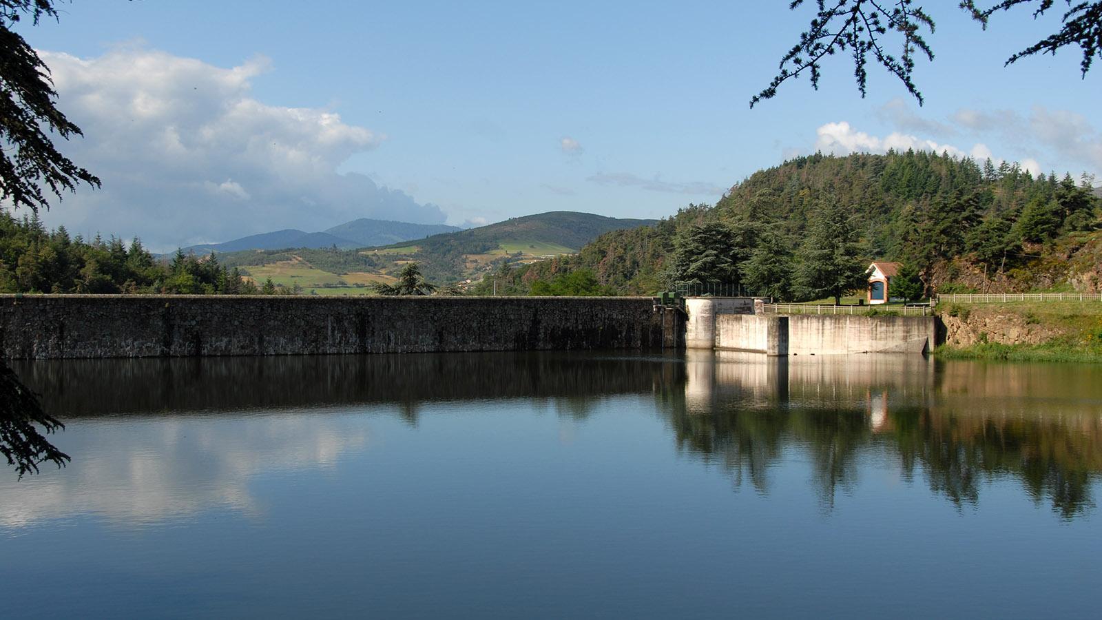 Bei Annonay: der Lac de Ternac. Foto: Hilke Maunder