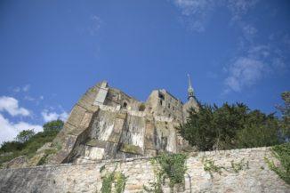 Mont Saint-Michel_Klosterberg_Abtei_Fels_©Hilke Maunder
