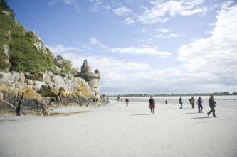Normandie_Mont Saint-Michel_Watt_Touristen_©Hilke Maunder