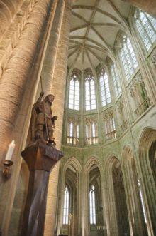 Mont Saint-Michel_Abtei_Merveille_Klosterkirche 1_©HIlke Maunder