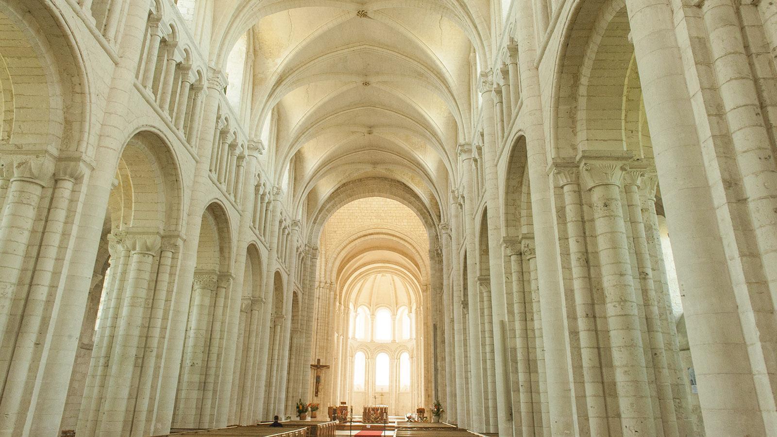 St-Martin-de-Boscherville: Klosterkirche. Foto: Hilke Maunder