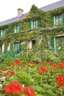 Giverny_Claude Monet_Wohnhaus_Blumen_©Hilke Maunder