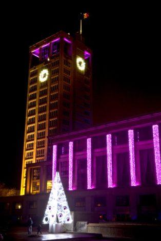 Normandie_Le Havre_Hôtel de ville_Rathaus_Weihnachten_©Hilke Maunder