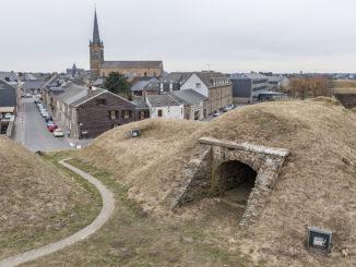 Rocroi: Blick von der Befestigung auf die Stadt. Foto: Hilke Maunder