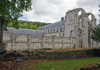 Normandie_Seine_Abtei_St-Wandrille_Kloster 3©Hilke Maunder