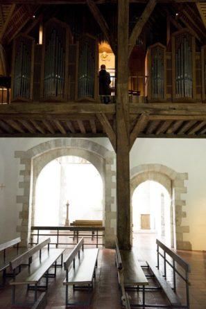 Normandie_Seine_Abtei_St-Wandrille_Kloster_Kirche_1_©Hilke Maunder