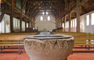 Normandie_Seine_Abtei_St-Wandrille_Kloster_Kirche_2_©Hilke Maunder