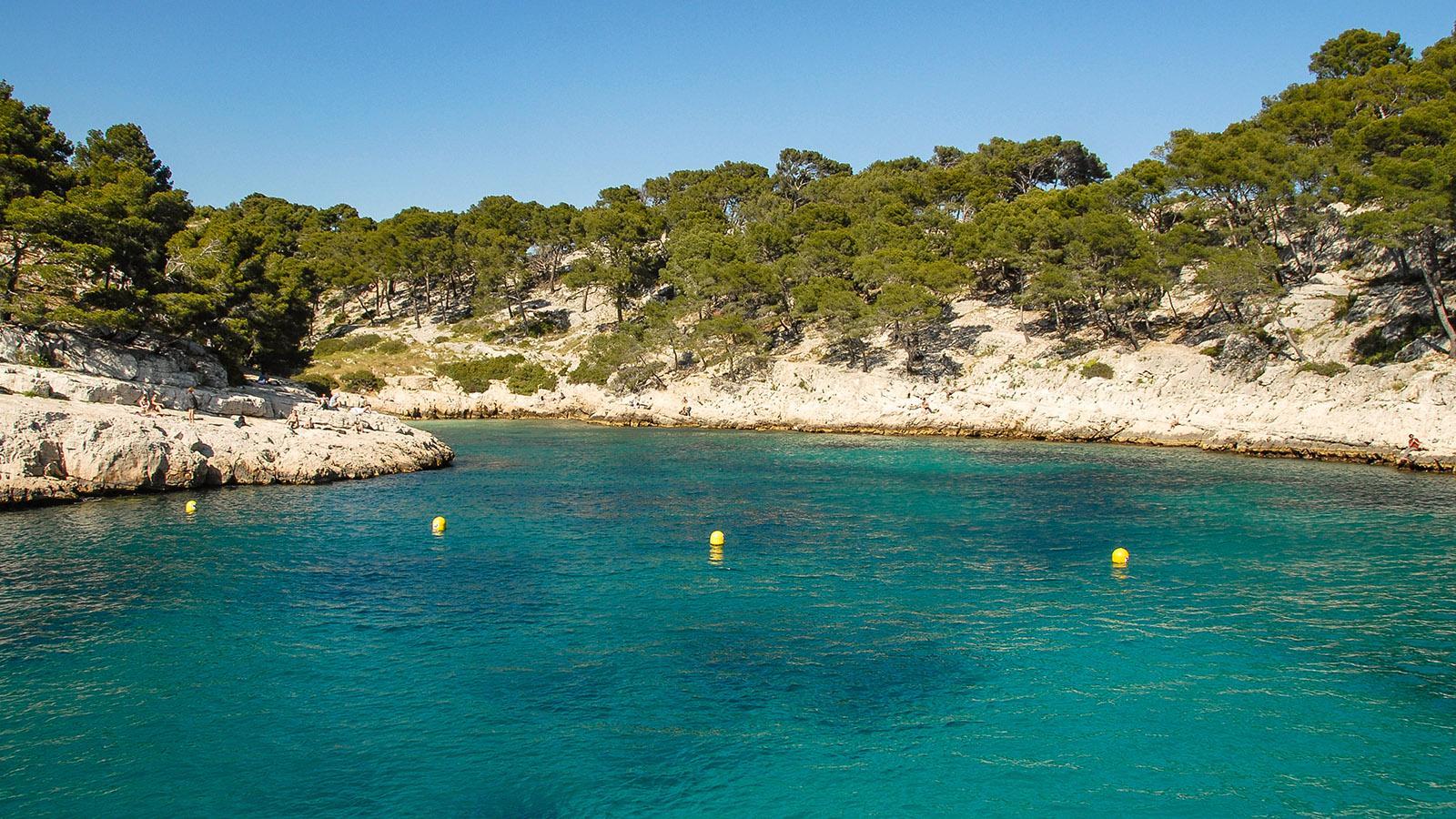 Einige der Calanques von Cassis sind für den Bootverkehr gesperrt. Foto: Hilke Maunder