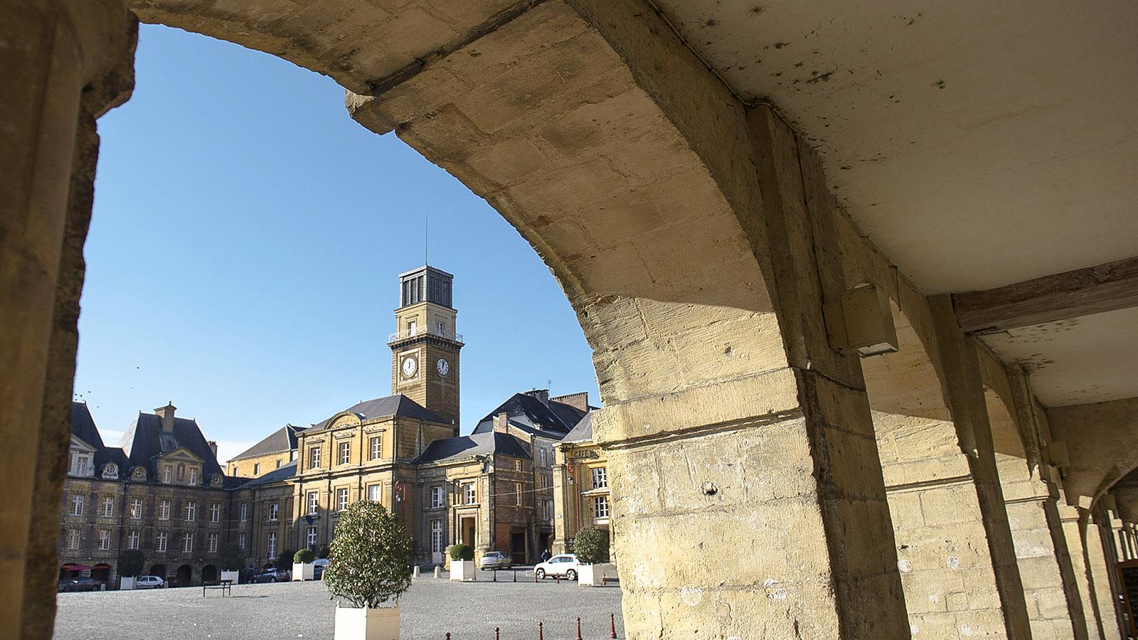 Charleville-Meziere, Place Ducale. Foto: Hilke Maunder