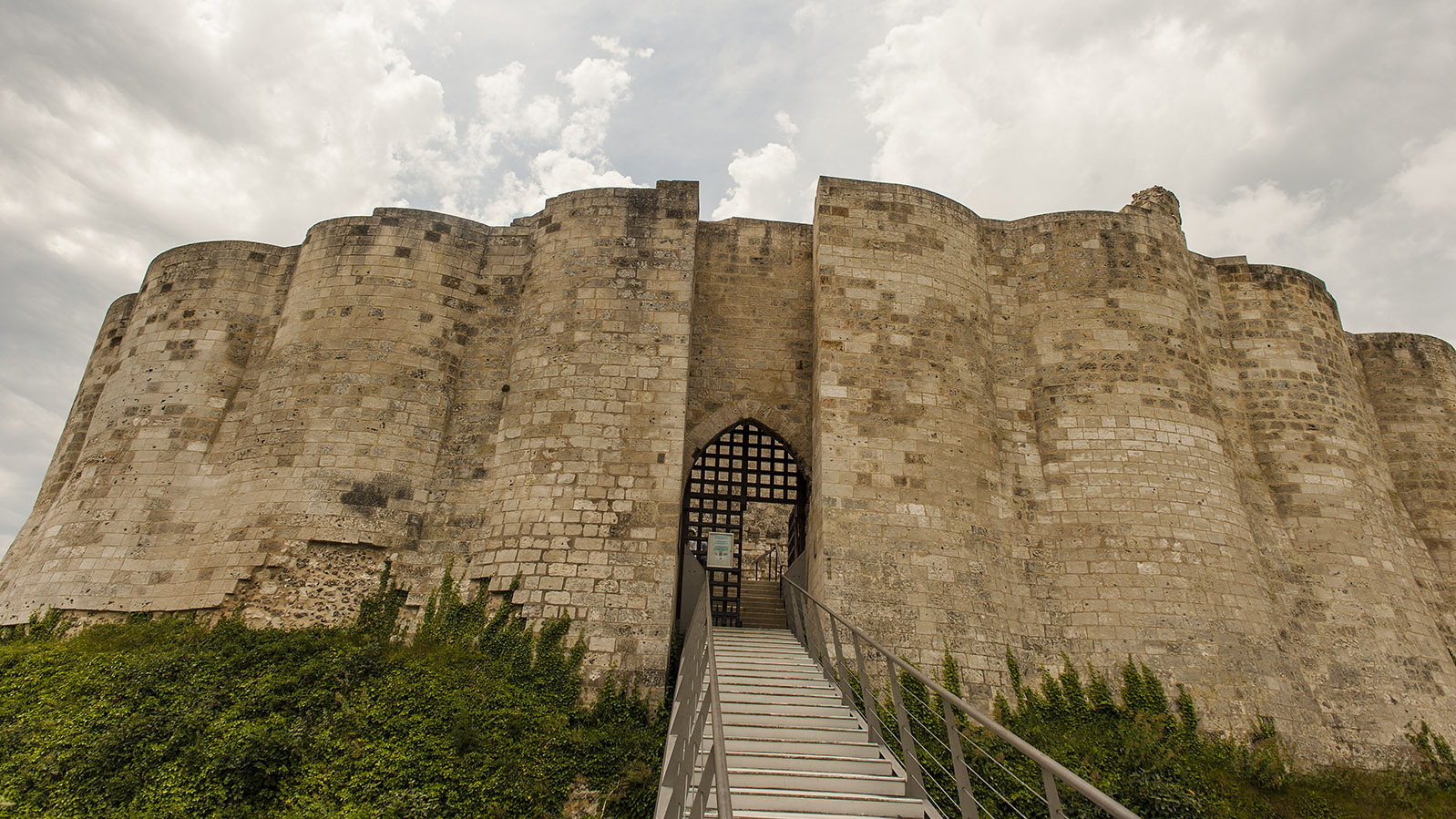 Château Gaillard. Foto: Hilke Maunder