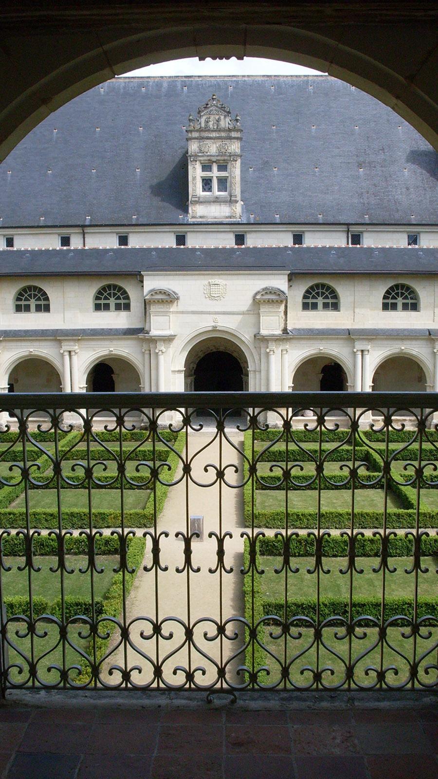 Gesperrt für Besucher; der Klostergarten. Foto: Hilke Maunder