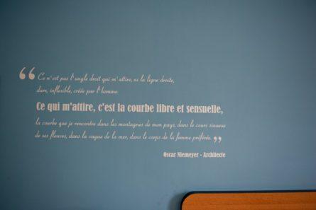 Normandie_Le Havre_Oscar_Hotel_Spruch©Hilke Maunder