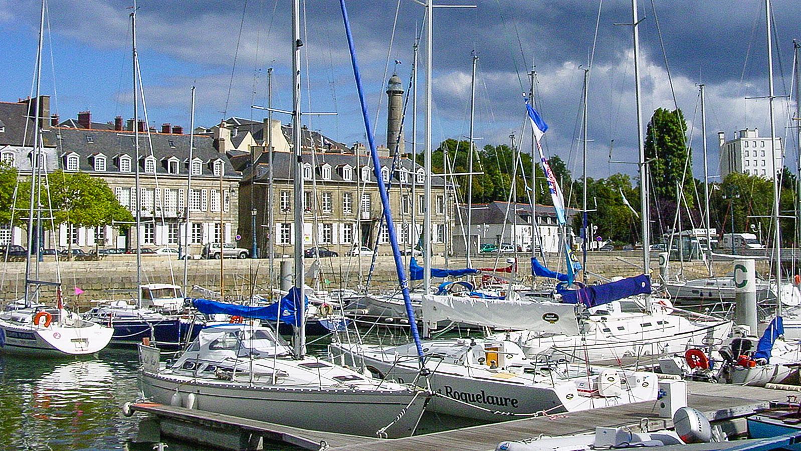 Lorient: der Sportboothafen. Foto: Hilke Maunder