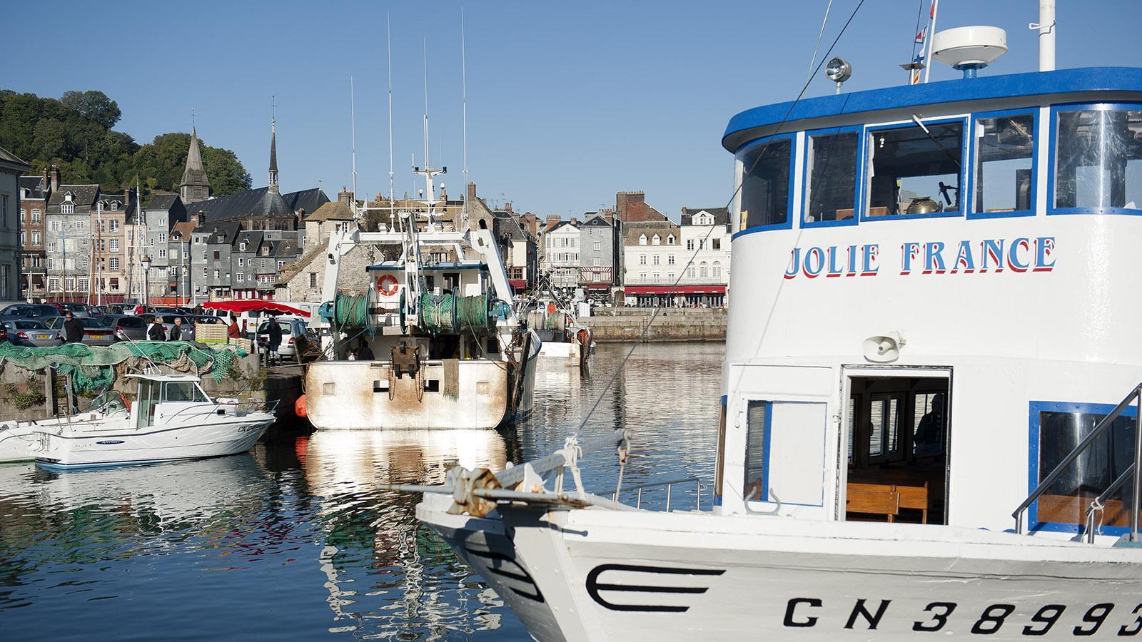 Boudin in Honfleur: der Hafen. Foto: Hilke Maunder