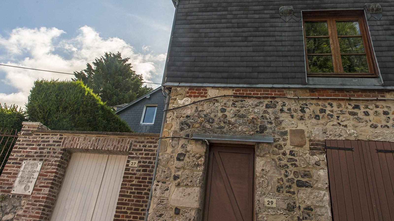 Das Geburtshaus von Eugène Boudin in Honfleur. Foto: Hilke Maunder