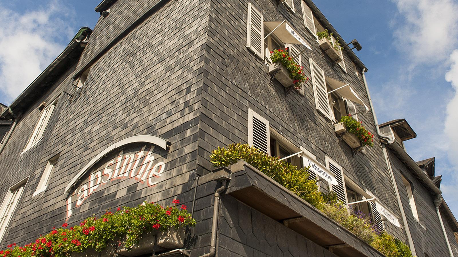 Boudin in Honfleur: Hôtel L'Absinthe. Foto: Hilke Maunder