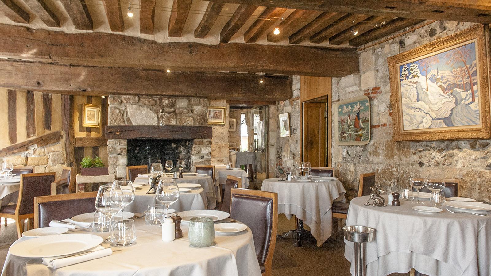 Boudin in Honfleur: Restaurant L'Absinthe. Foto: Hilke Maunder