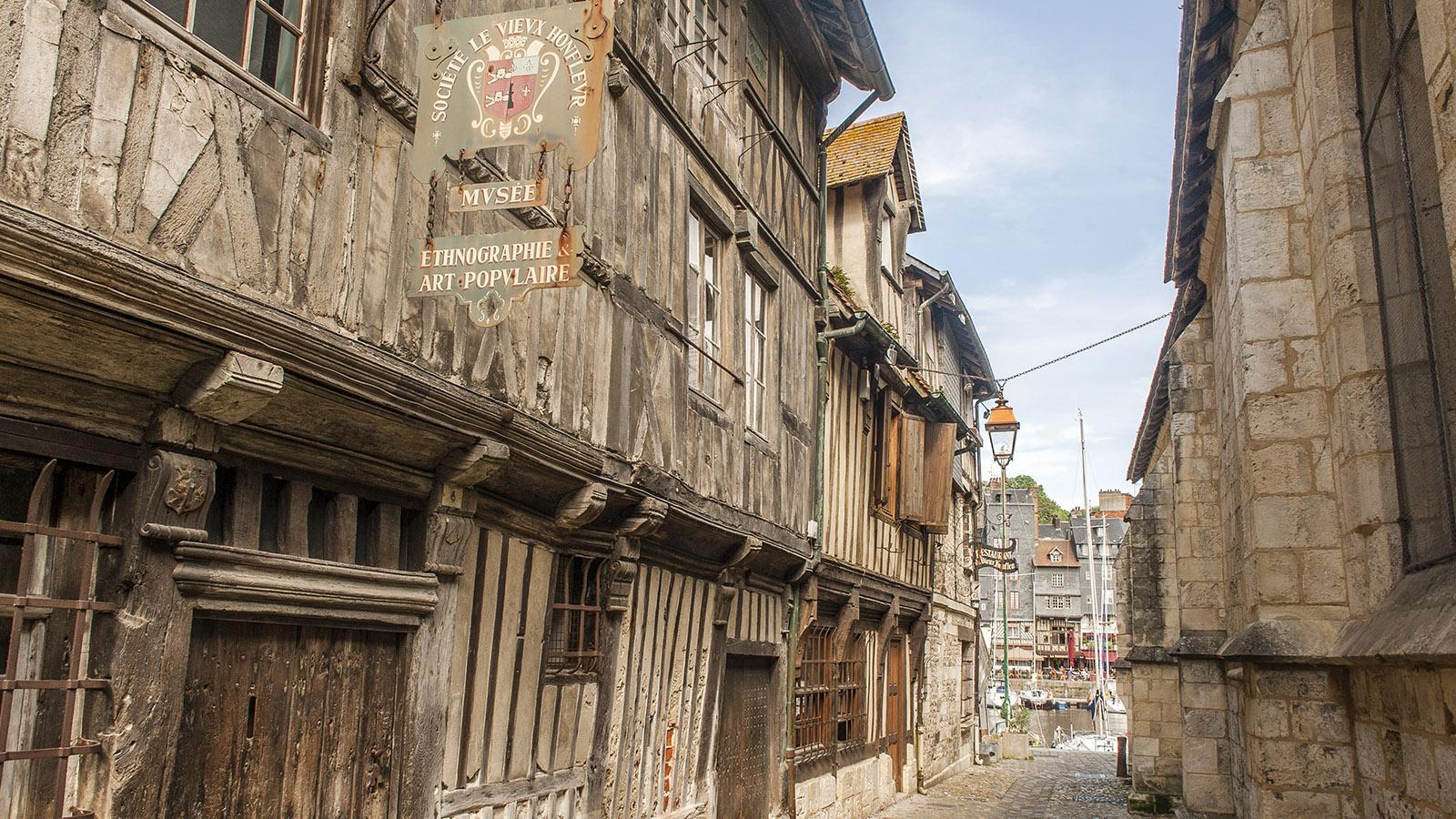 Boudin und Honfleur: das stadtgeschichtliche Museum. Foto: Hilke Maunder