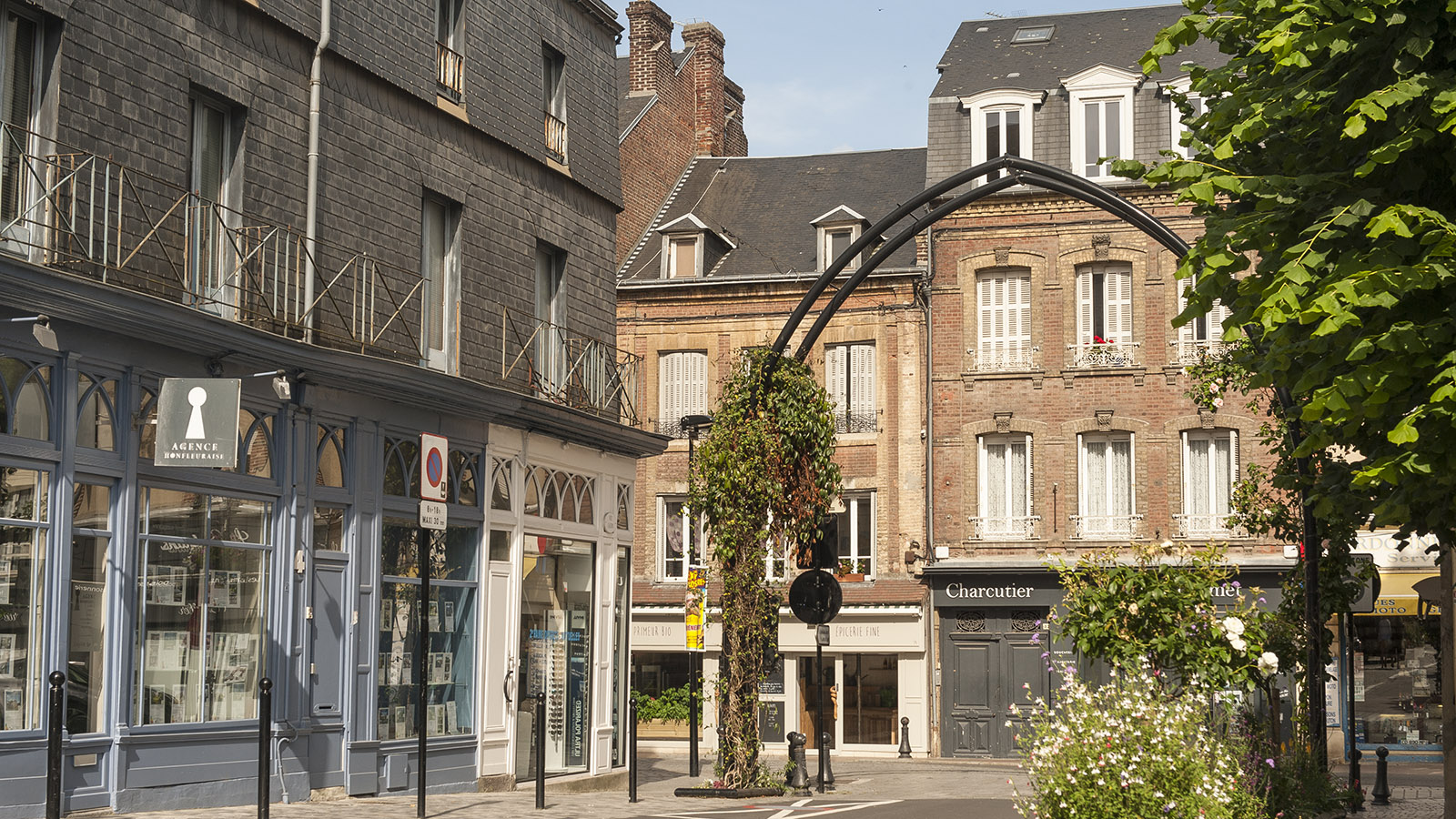Boudin in Honfleur: Rue Cachin. Foto: Hilke Maunder