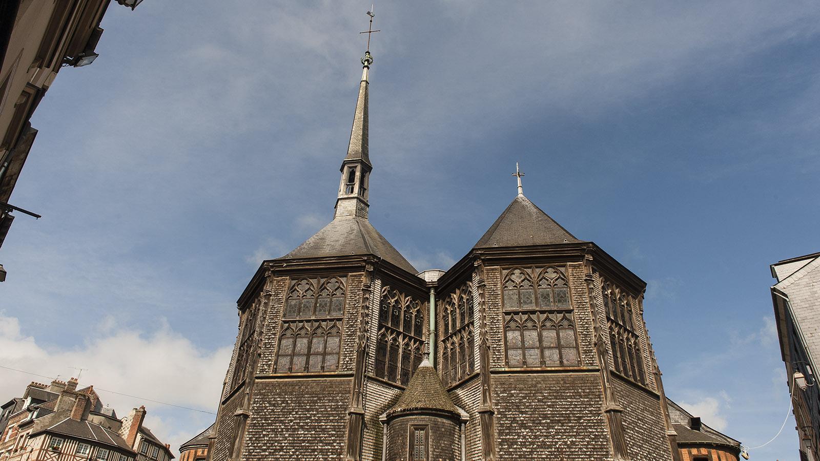Honfleur: Sainte-Catherine. Foto: Hilke Maunder