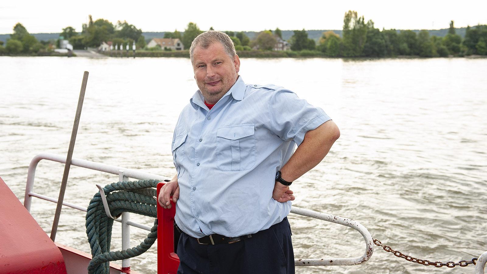 Bacs de la Seine: der Fährmann. Foto: Hilke Maunder