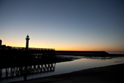 Normandie_Trouville_Touques_Leuchtturm_Sunset_1_©Hilke Maunder