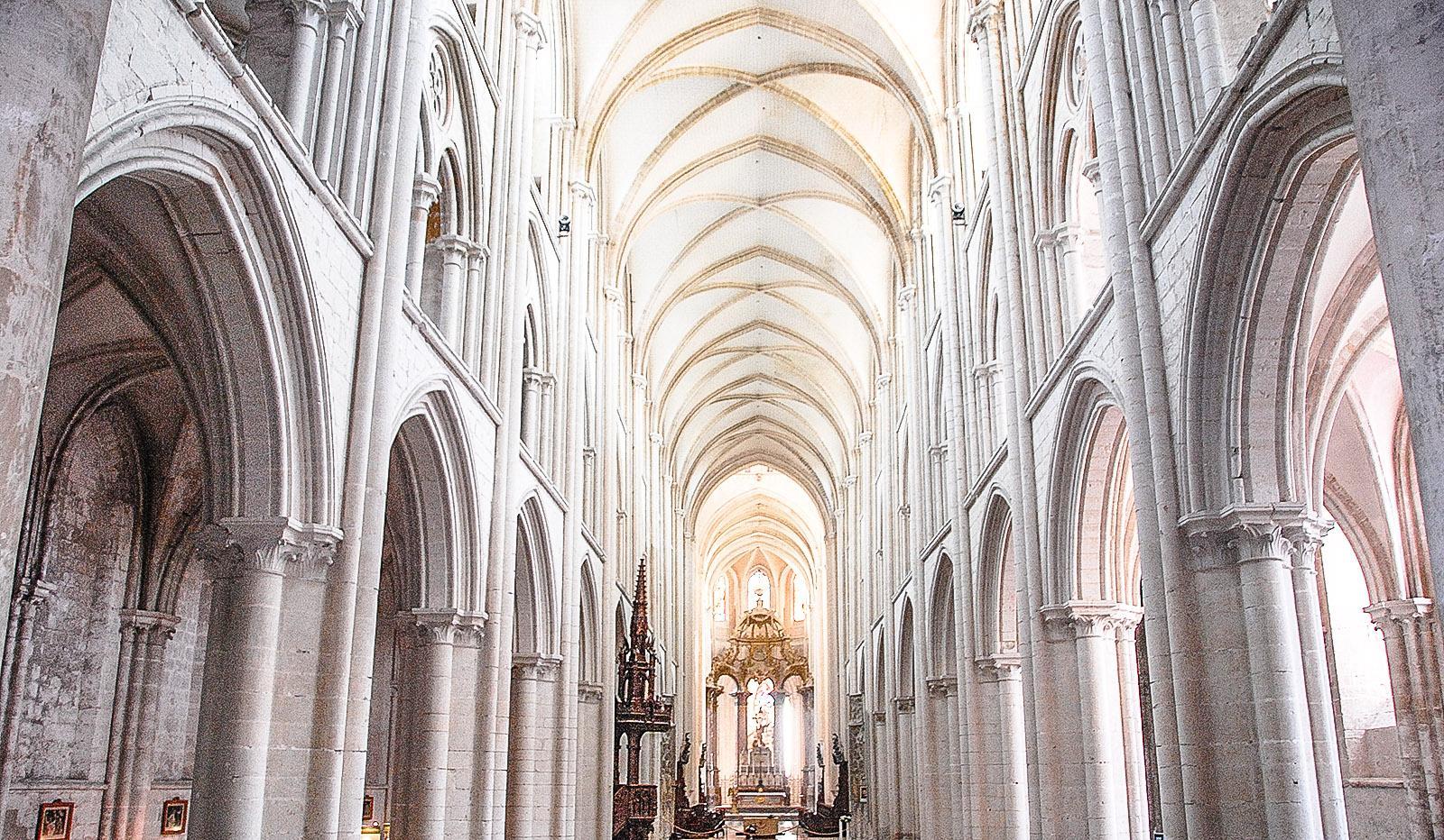 Die Abteikirche von Fécamp. Foto: Hilke Maunder