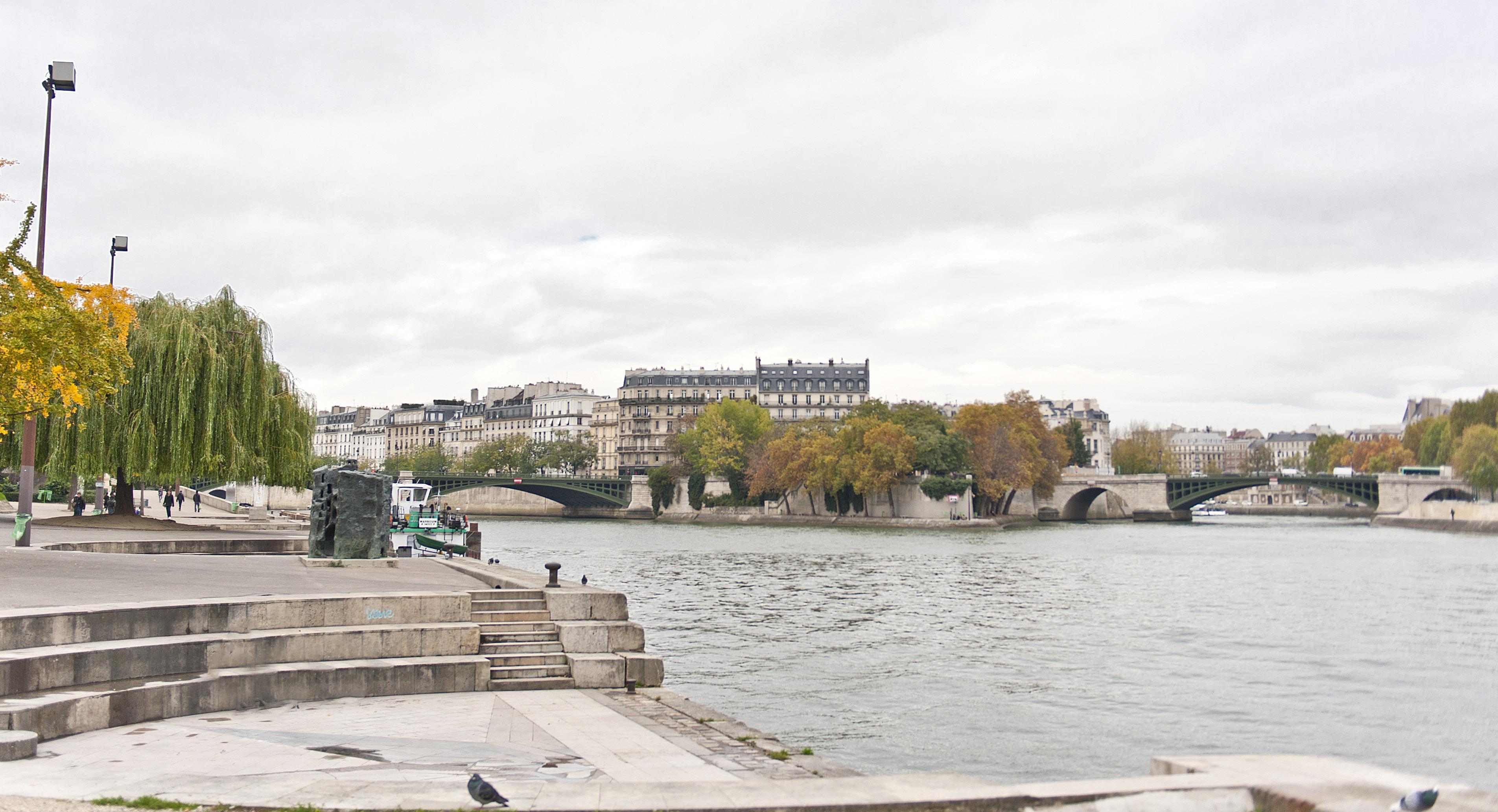 Paris: Blick zur Île Saint-Louis. Foto: Hilke Maunder