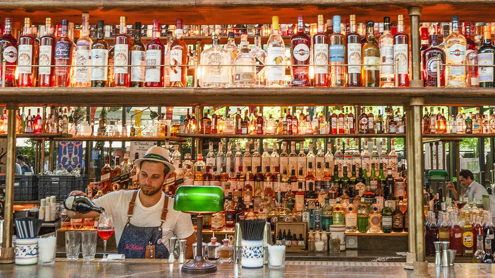 Tolbiac: die Bar der Station F. Foto: HIlke Maunder