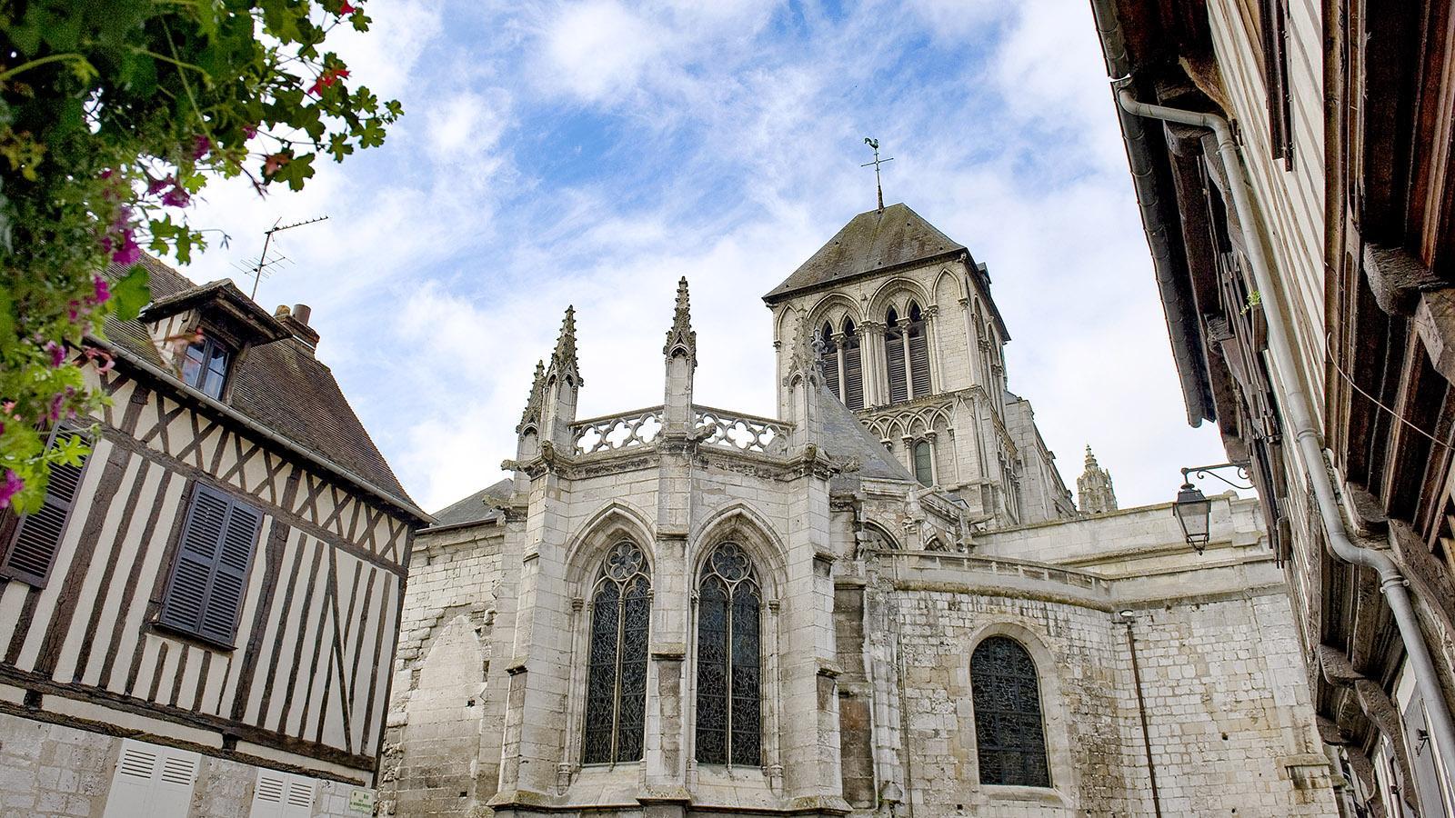 Vernon: Stiftskirche Notre-Dame. Foto: Hilke Maunder