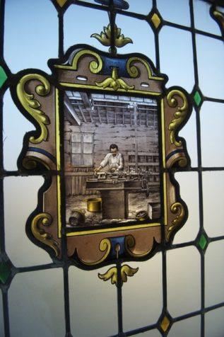 Ardennen_Charleville-Mézières_Museum der Ardennen_Handwerk_Fenster_Bleiglas_©Hilke Maunder