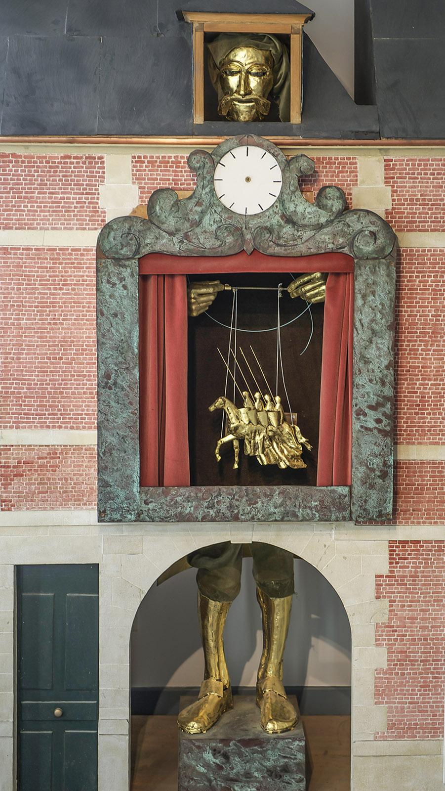 Die große Marionette in Gänze. Foto: Hilke Maunder