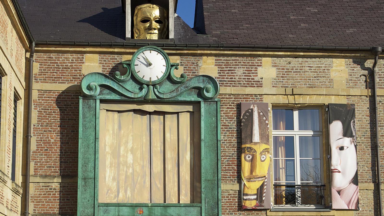 Charleville-Mézières: die große Marionette. Foto: Hilke Maunder