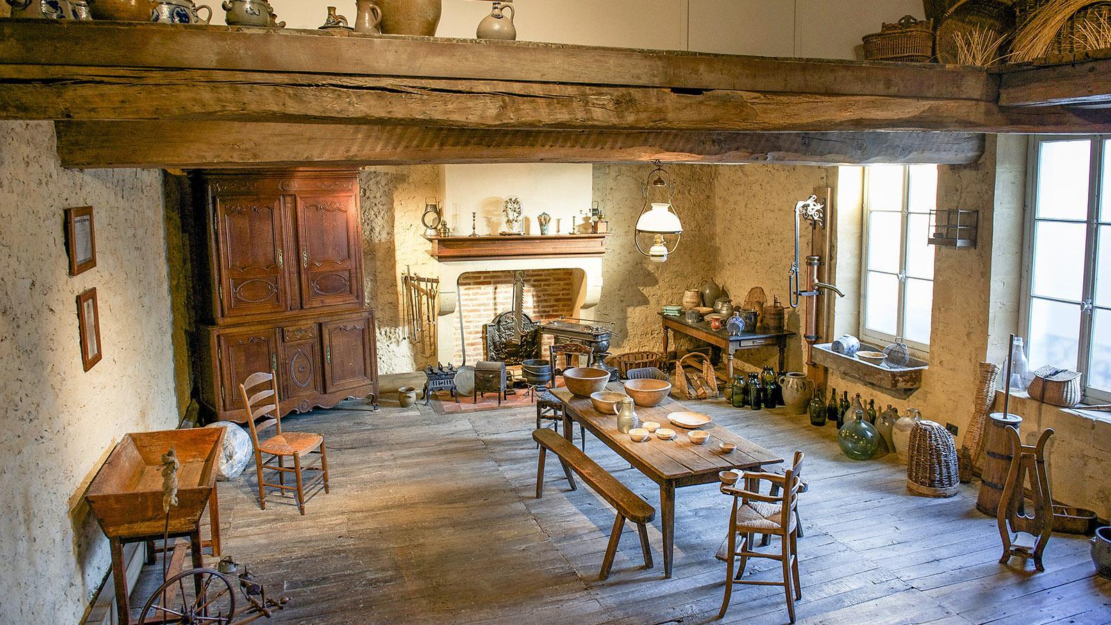 Charleville-Mézières: Bauernstube im Regionalmuseum. Foto: Hilke Maunder