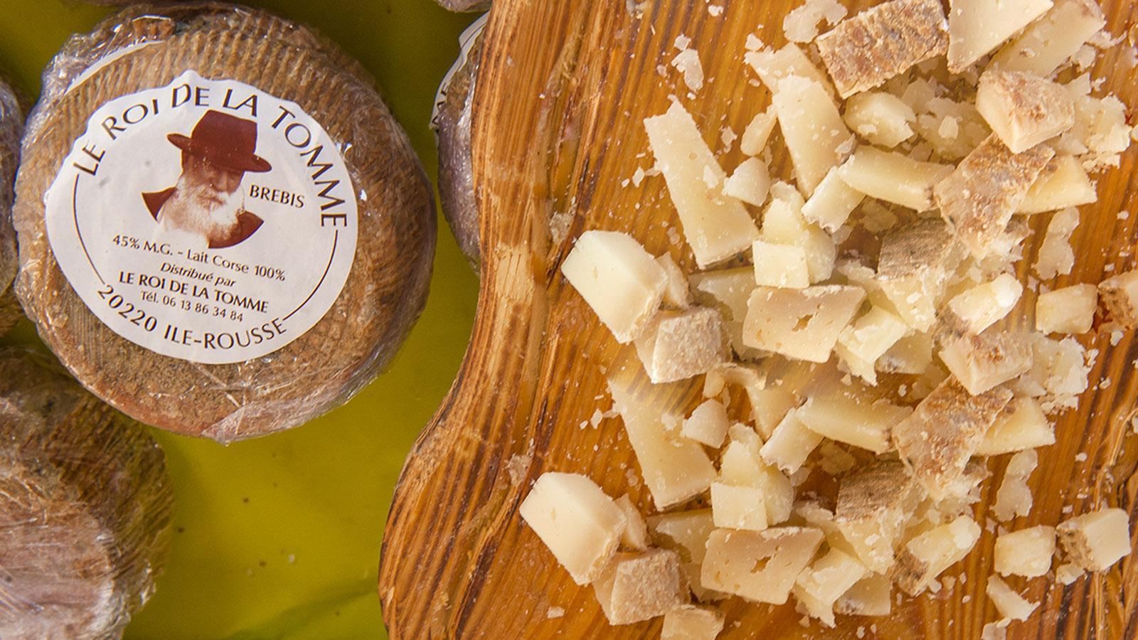Käse von Schaf und Ziege könnt ihr auf vielen Märkten der Insel probieren! Foto: Hilke Maunder