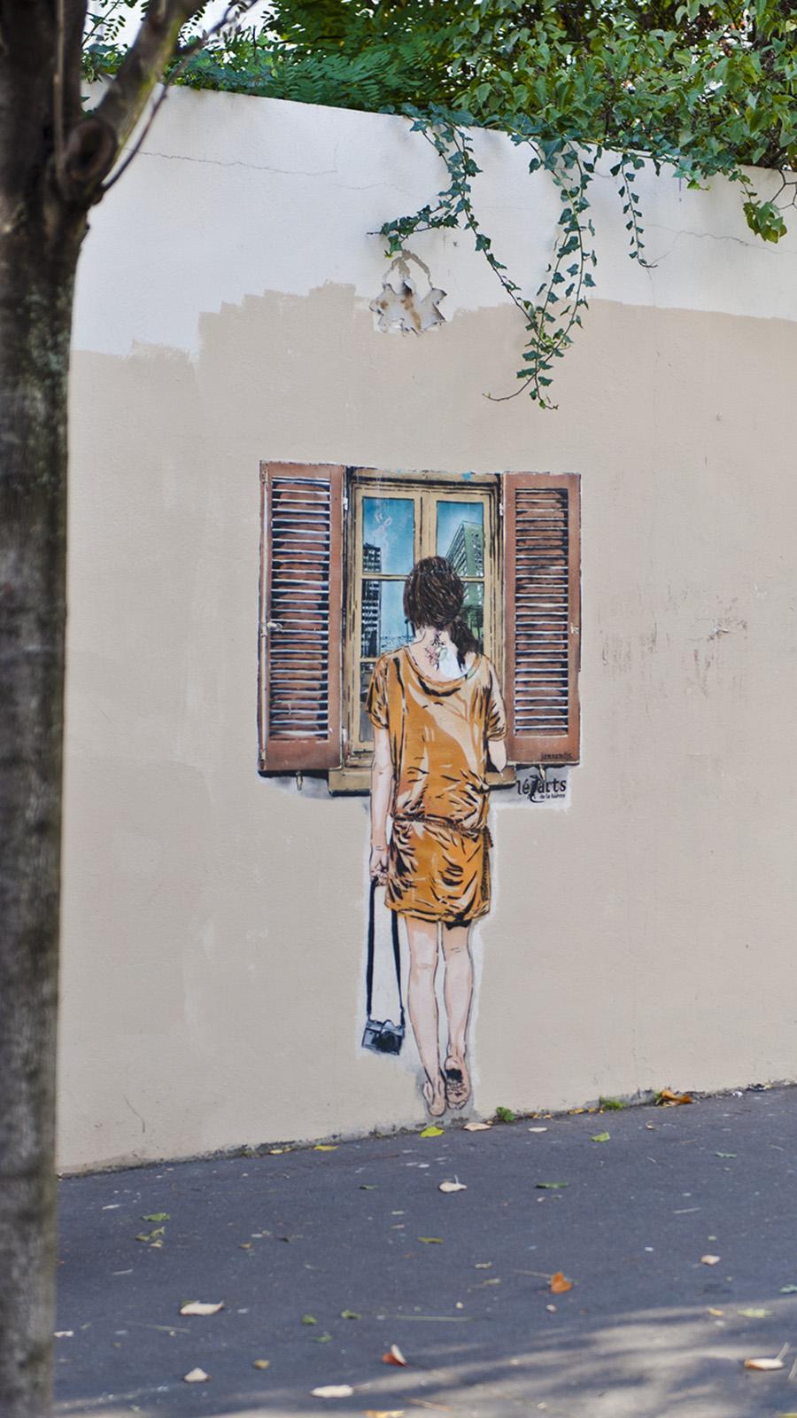 Street Art in der Butte-aux-Cailles. Foto: Hilke Maunder
