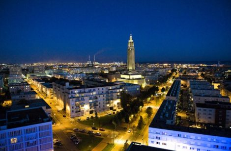 Normandie_Le Havre_Sunset_eglise Saint-Joseph_©Hilke Maunder