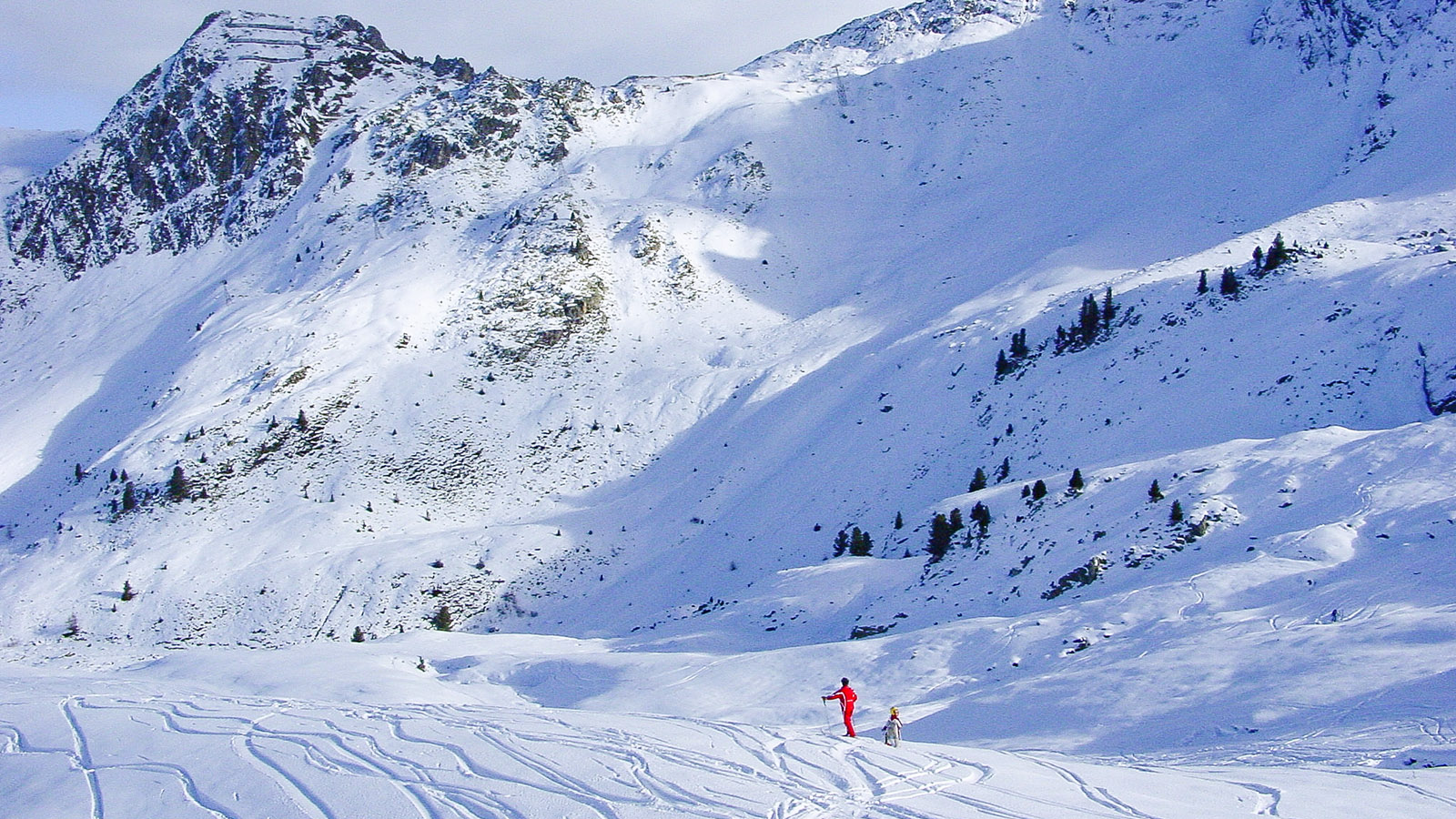 La Plagne: im Skigebiet. Foto: Hilke Maunderr