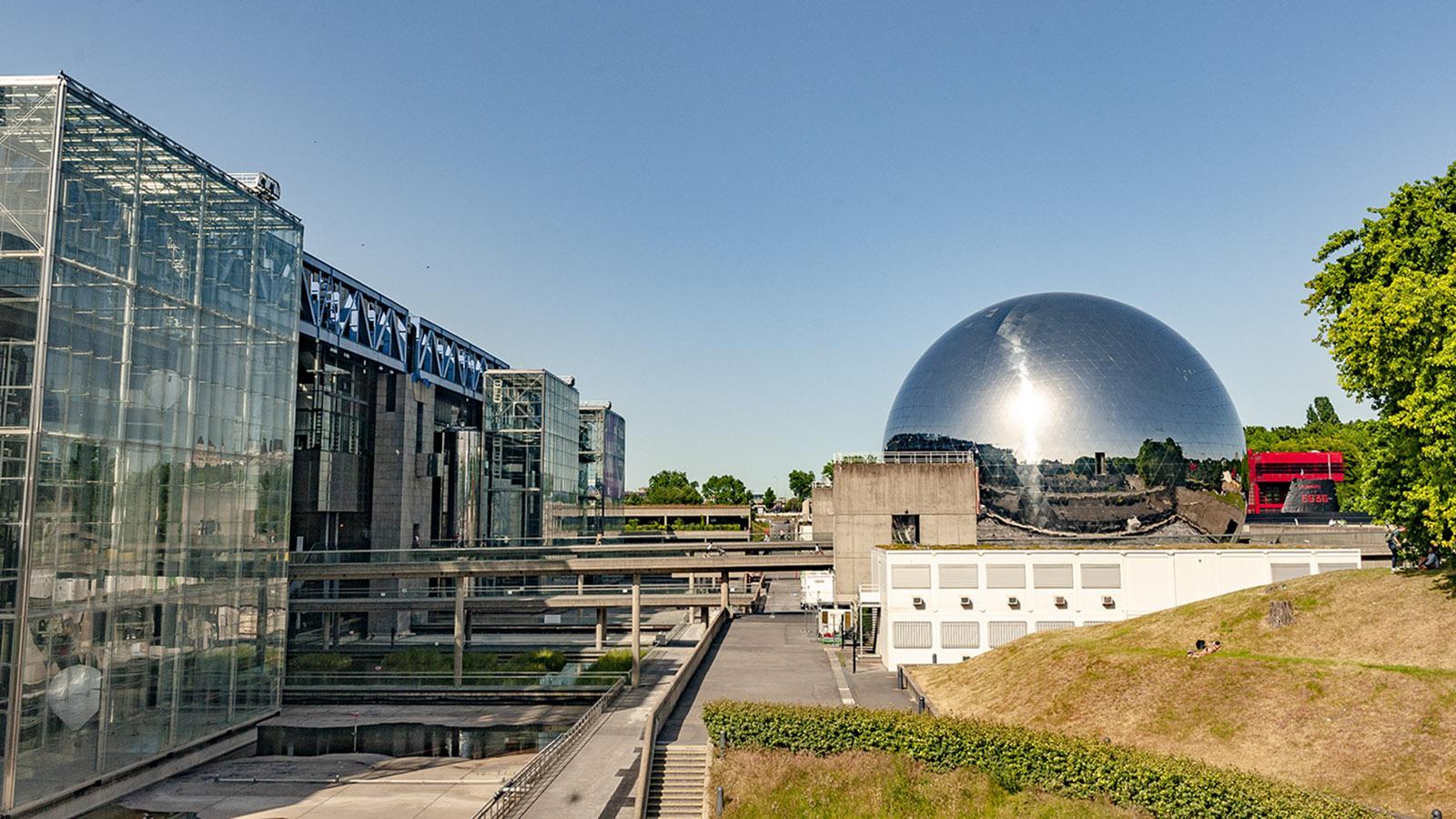 Cité des Sciences: La Géode. Foto: Hilke Maunder