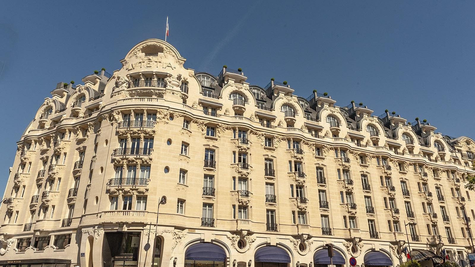 Gegenüber vom Bon Marché: das Hôtel Lutetia. Foto: Hilke Maunder