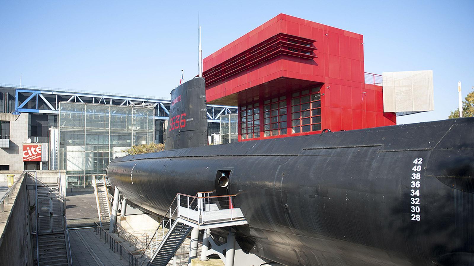 L'Argonaute: Auch das U-Boot von La Villette könnt ihr besichtigen! Foto: Hilke Maunder