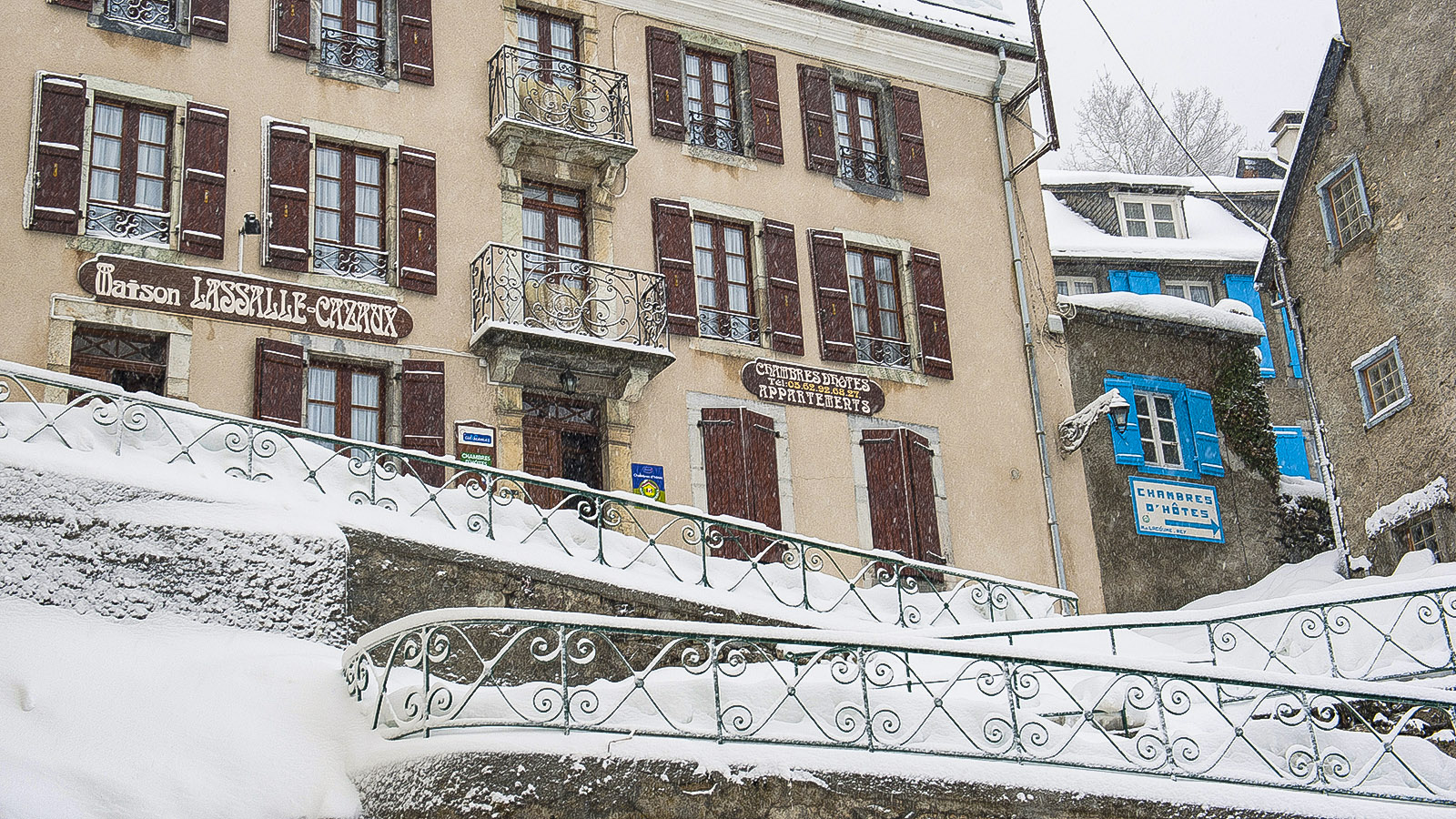 Barèges, Schneeloch der Pyrenäen. Foto: Hilke Maunder