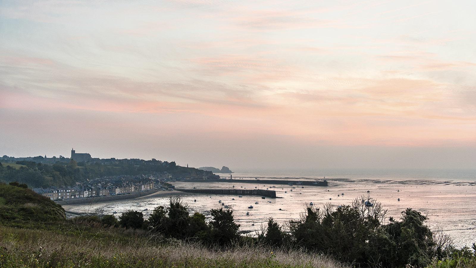 Cancale: Sonnenaufgang. Foto: Hilke Maunder