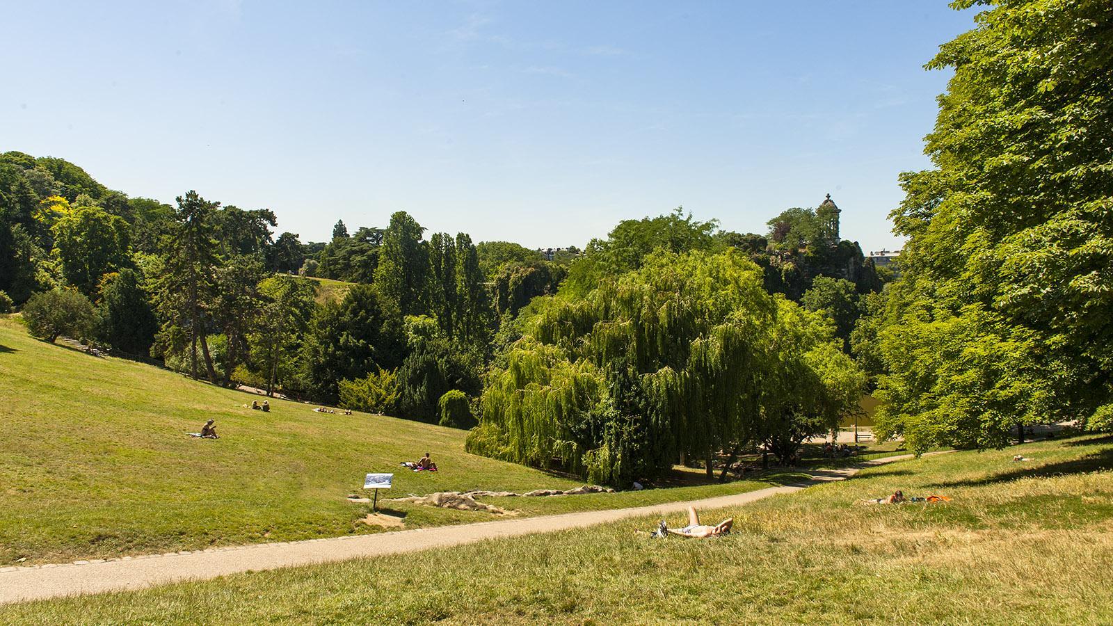 Der Park Buttes-Chaumont in Paris. Foto: Hilke Maunder