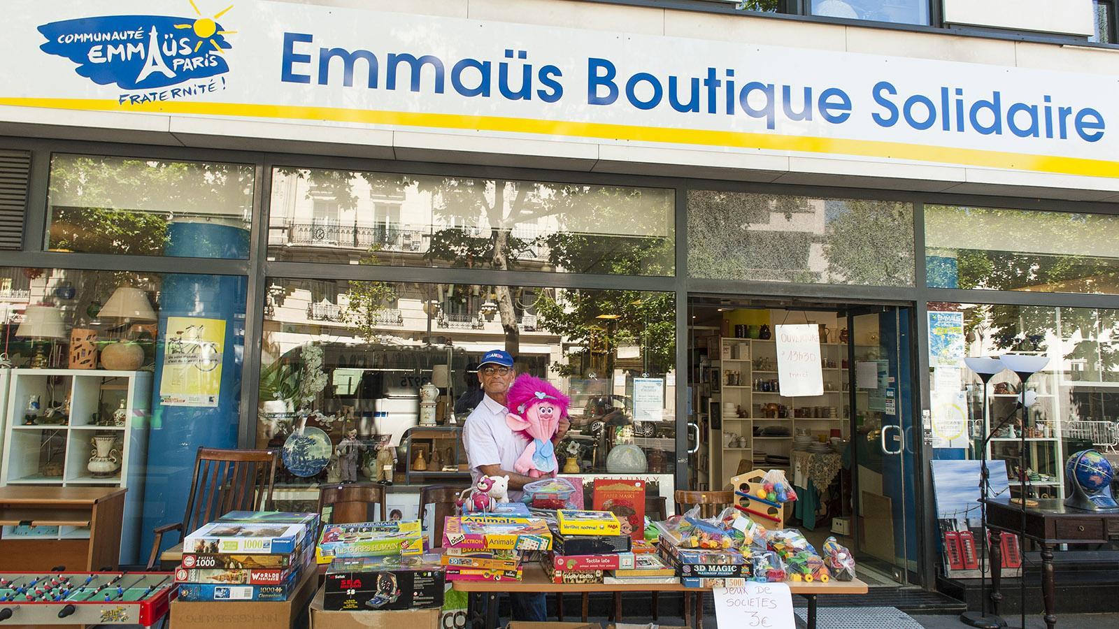Solidarität: Emmaüs arbeitet Gebrauchtes auf und verkauft es. Foto: Hilke Maunder