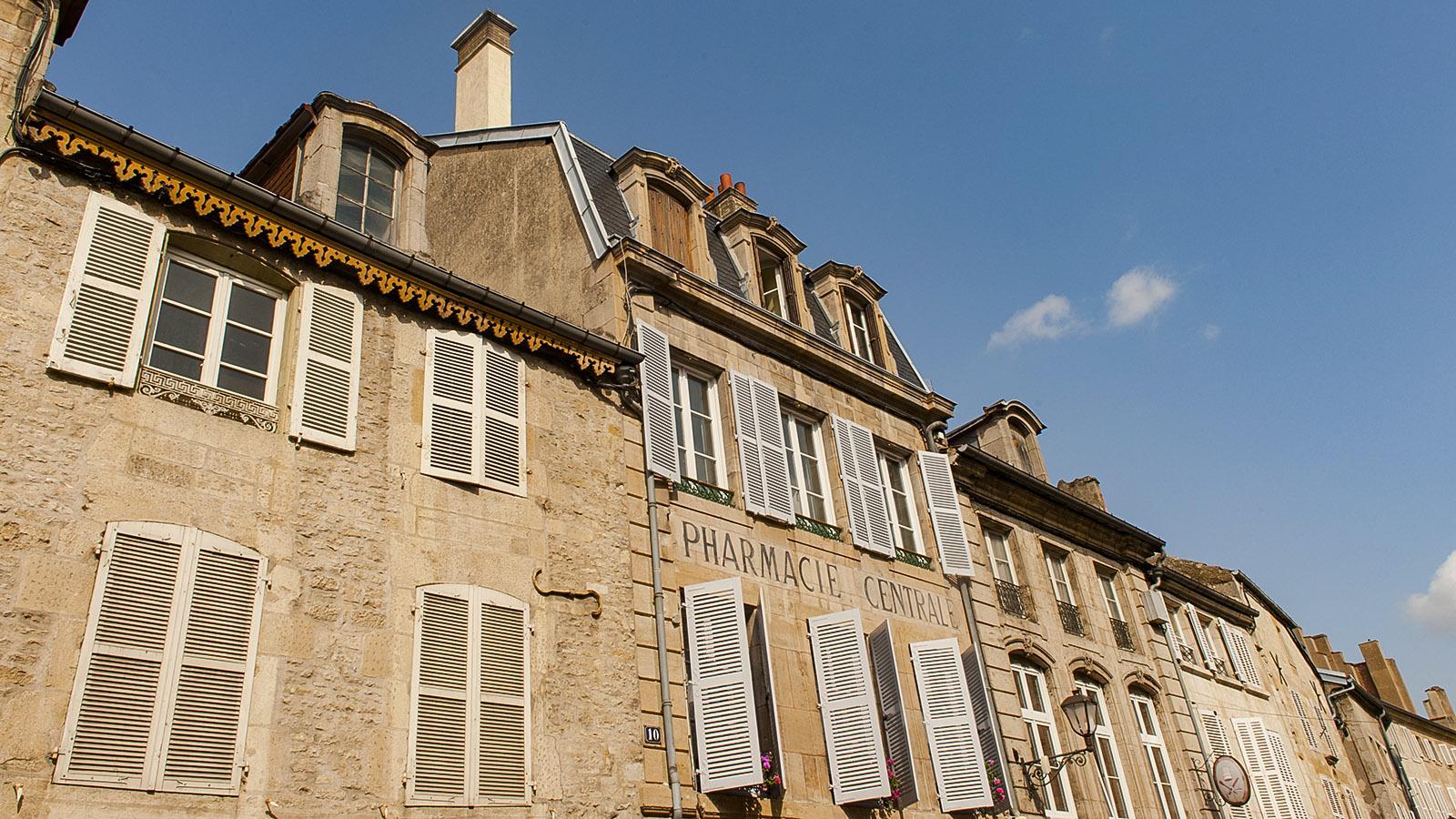 Bei Diderot in Langres: Hausfassaden. Foto: Hilke Maunder