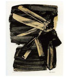 Kunst_Pierre Soulages_1963-l10_©Fondation Pierre & Colette Soulages
