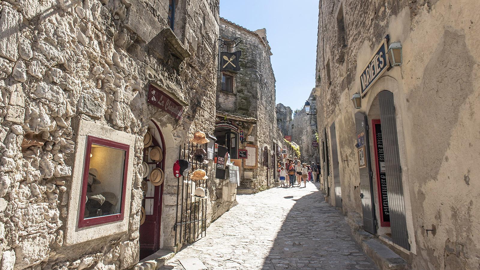 In den Gassen von Les Baux-de-Provence. Foto: Hilke Maunder