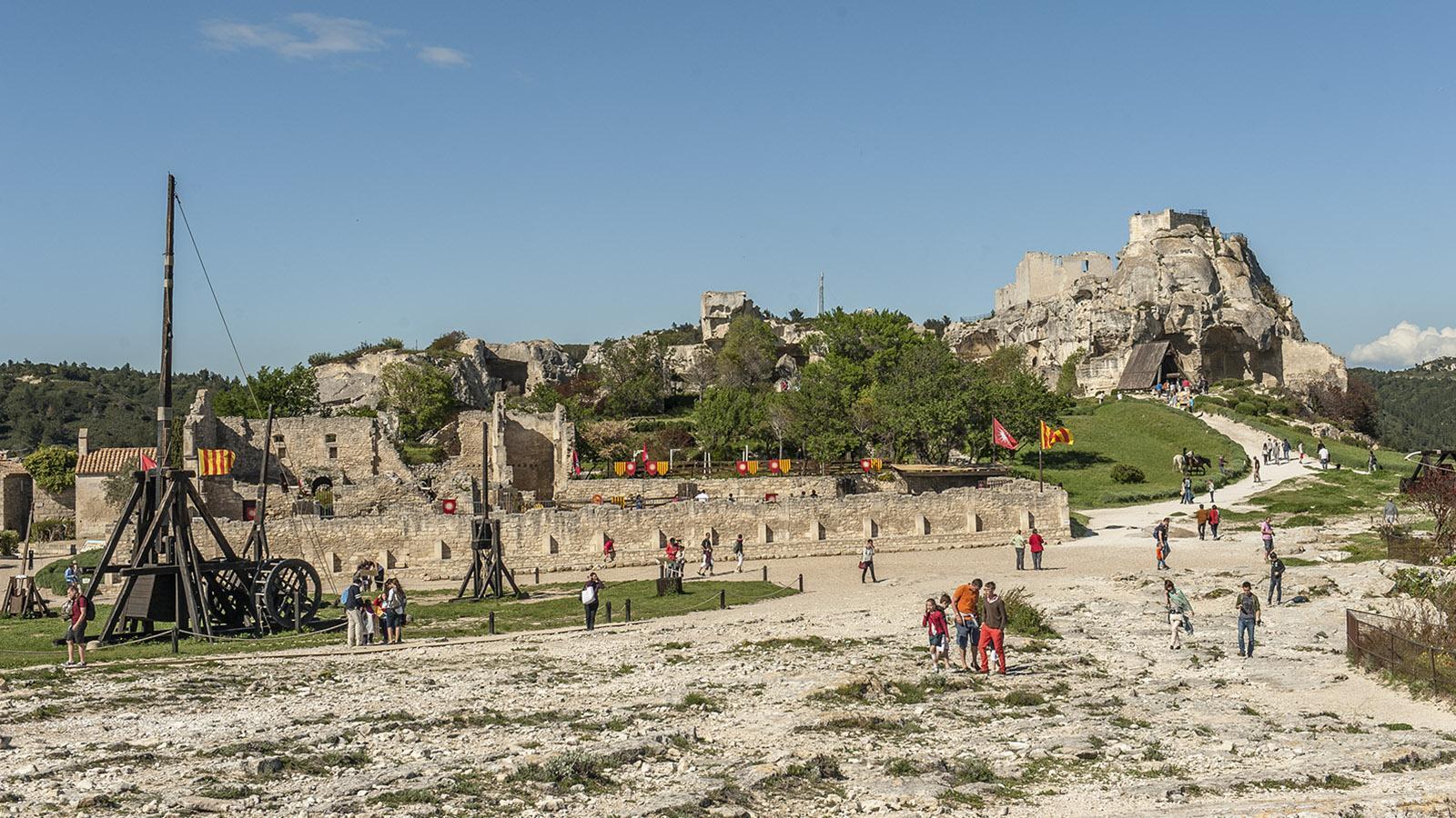 Les Baux-de-Provence: Die Burg ist die größte Ruine Frankreichs. Foto: Hilke Maunder
